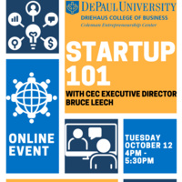 Startup 101 Workshop with CEC Executive Director Bruce Leech