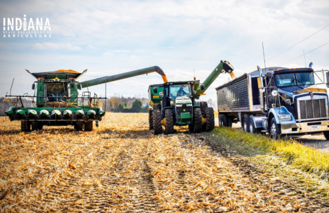 Harvest season is here; motorists remain  alert to slow moving equipment