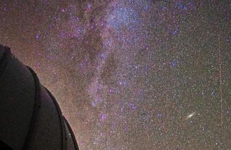 Stargazing on the Quad