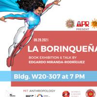 Image of superhero, La Borinqueña