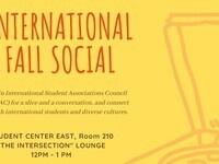 International Fall Social