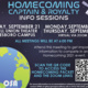 UPB & OSA | Homecoming Captain's/Royalty Meeting