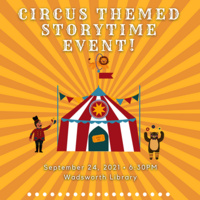 StoryTime Event for Children, presented by the SUNY Geneseo Young Children's Council