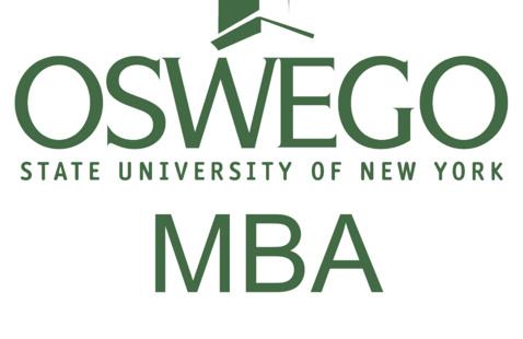 A logo for the Oswego MBA
