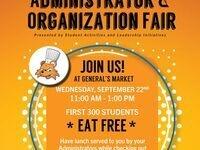 Administrator & Organization Fair