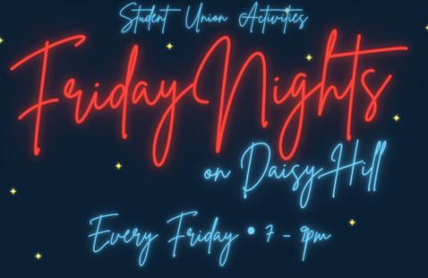 Friday Nights on Daisy Hill - Grocery Bingo