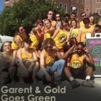 Garnet & Gold Goes Green (G4)
