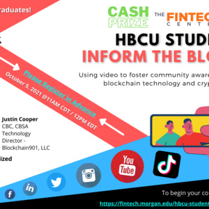 HBCU Students Inform the Block with Justin Cooper