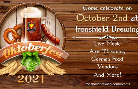 Oktoberfest At Ironshield Brewing