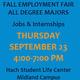 Fall In-person Employment Fair