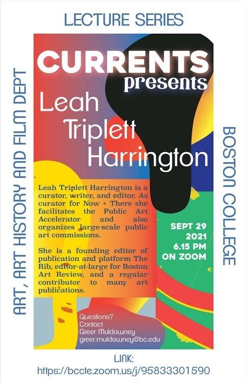 CURRENTS Presents Leah Tripplett Harrington