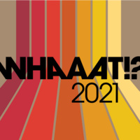 """multicolored image with """"whaaat!? 2021"""" text"""