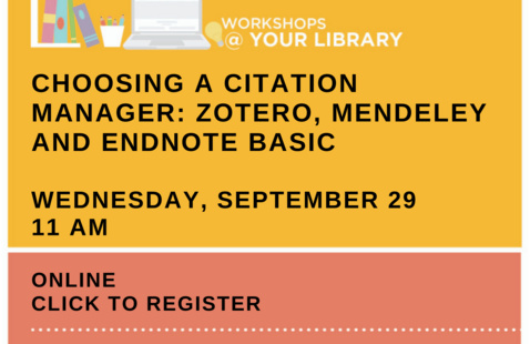 Information about library workshop