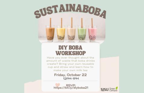 Sustainaboba: DIY Boba Workshop