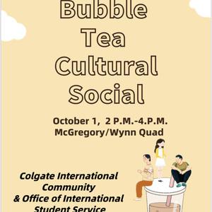 Bubble Tea Cultural Social