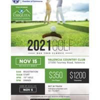 SCV Chamber Oak Tree Classic Golf Tournament