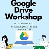 Google Drive Workshop