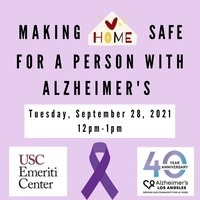 Making Home Safe for a Person with Alzheimer's