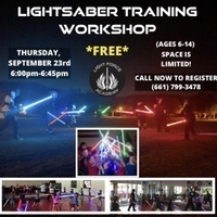 Lightsaber Training Workshop-YOUTH
