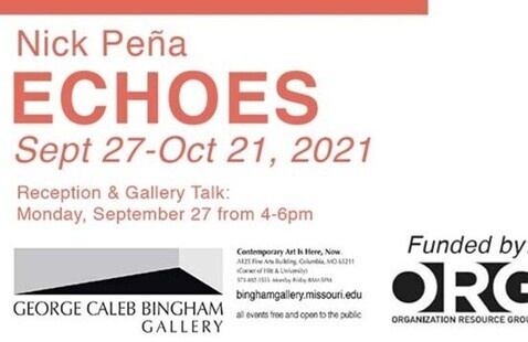 Reception and Artist Talk with Nick Peña at Bingham Gallery