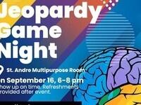 Jeopardy Game Night