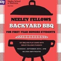 Neeley Fellows Milton Backyard BBQ