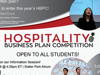 PIHE: Hospitality Business Plan Competition Information Session