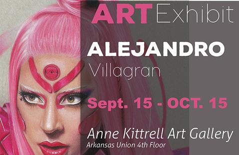 Hispanic Heritage Month: Alejandro Villagran Art Exhibit Reception
