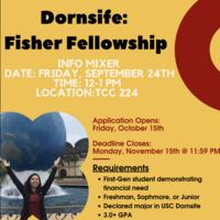 Fisher Fellowship Info Mixer