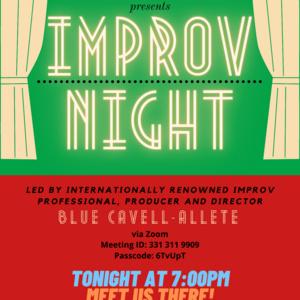 Improv Night! Presented by the Ira Aldridge Players