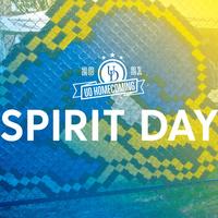 Homecoming Spirit Day graphic.