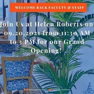 Helen Roberts Grand Opening Flyer