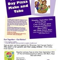 Famiily Day Pizza Make and Take