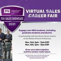 TCU Virtual Sales Career Fair - Nov 4 (Day 2)