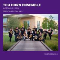 Student Recital Series: TCU Horn Ensemble Concert