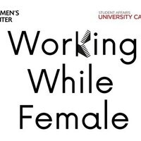 Working While ... Female: a Virtual Networking Event