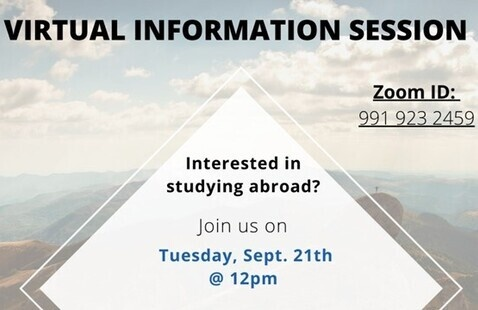 Study Abroad General Information Session