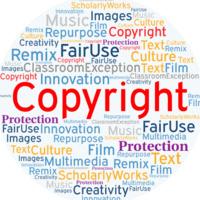 Copyright Word Art