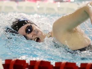 Charger Women's Swim at Olivet Quad