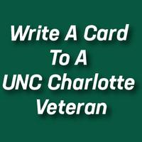 Write a Card to a UNC Charlotte Veteran