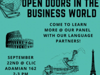 CLIC Discussion Panel: Language in Business