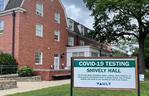 Shively Hall at Ohio University