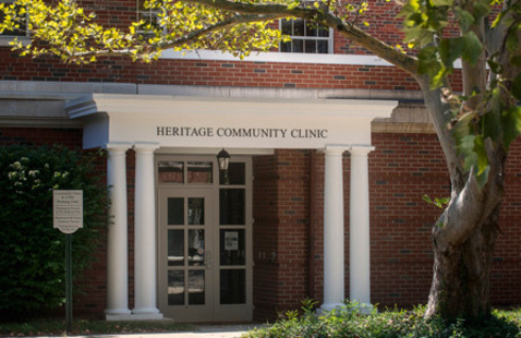 Heritage Community Clinic located in Grosvenor Hall West