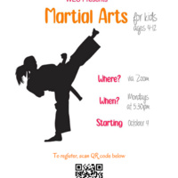 Martial Arts Class for kids