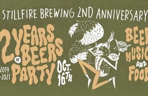 StillFire Brewing Second Anniversary Celebration