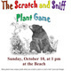 The Scratch and Sniff Plant Game