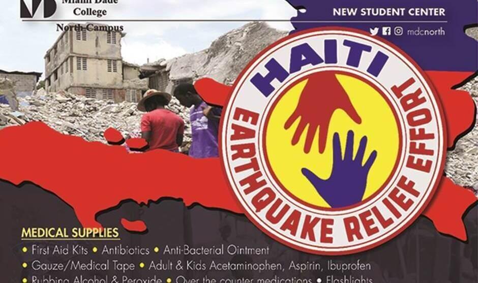 HAITI EARTHQUAKE RELIEF EFFORT