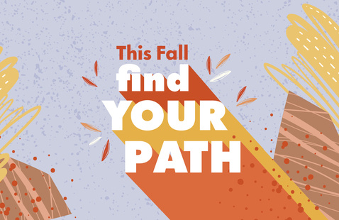 Find your path graphic.