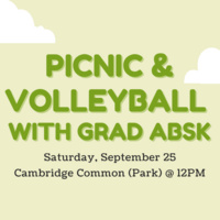 Picnic & Volleyball with ABSK Grad