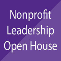 Nonprofit Leadership Open House